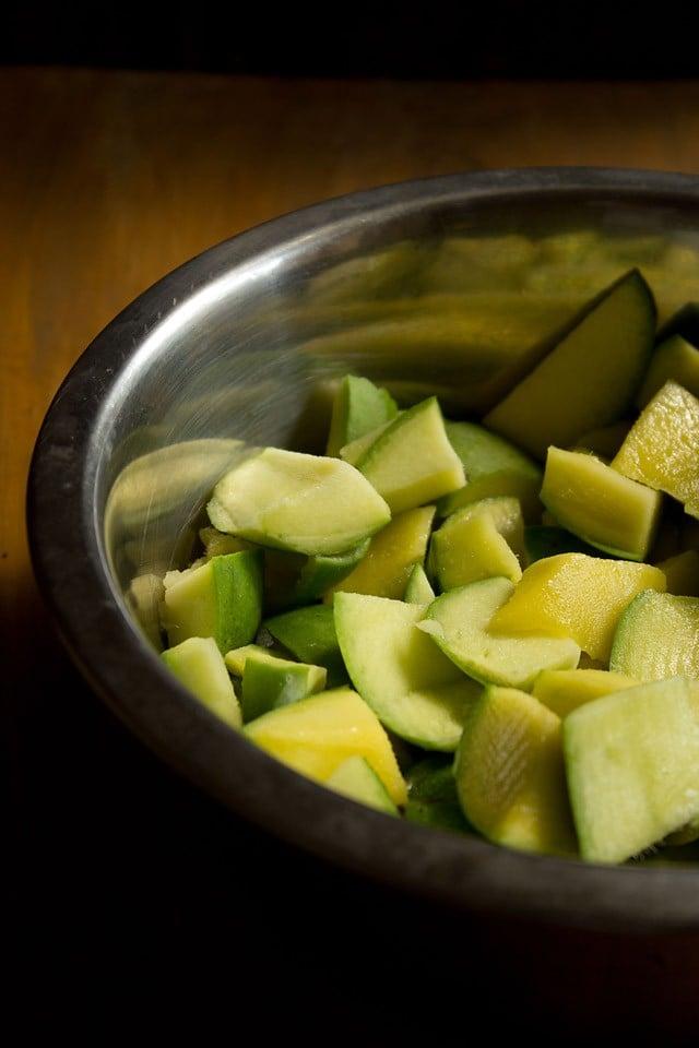 punjabi mango pickle recipe