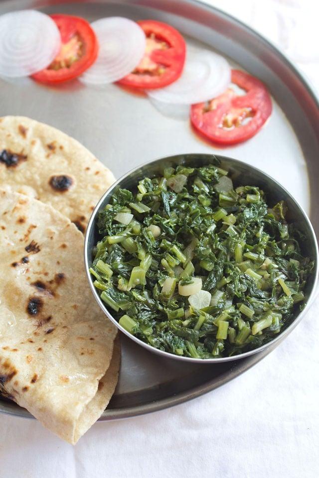 mooli bhurji recipe, how to make punjabi mooli bhurji | mooli sabzi recipe