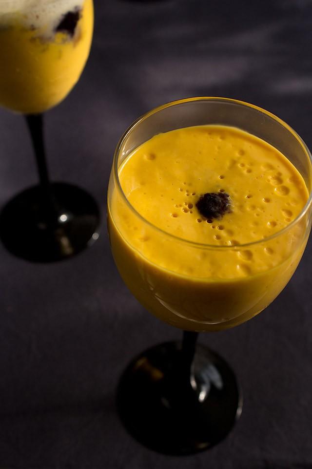 quick mango mousse recipe