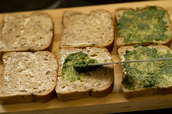 chutney for bombay veg toast sandwich recipe