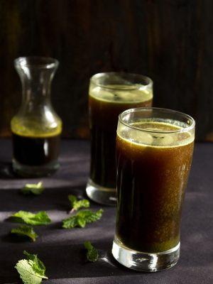 mint juice, pudina juice