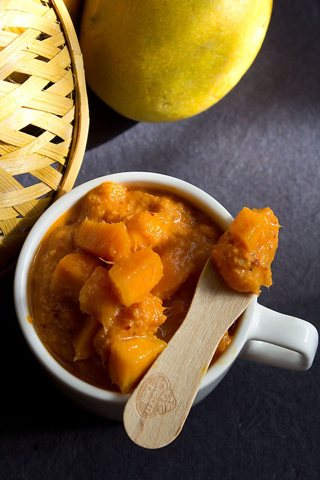 ripe mango chutney