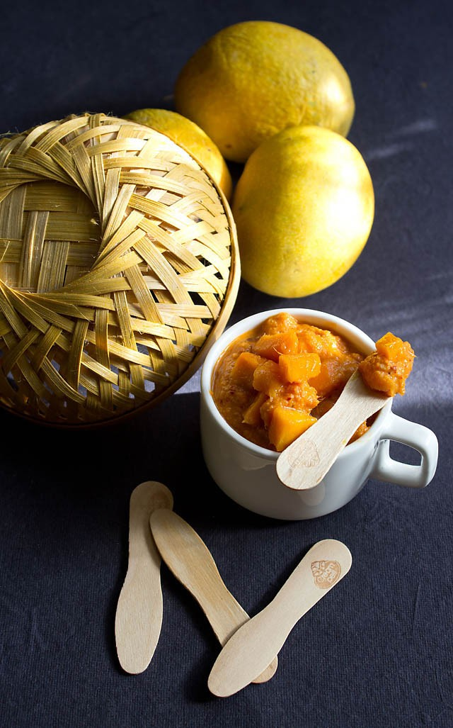sweet mango chutney recipe, how to make quick mango chutney recipe