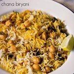 ramadan recipes chole biryani