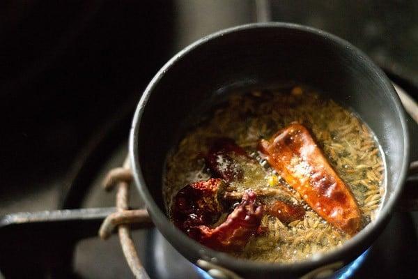 making tadka dal recipe