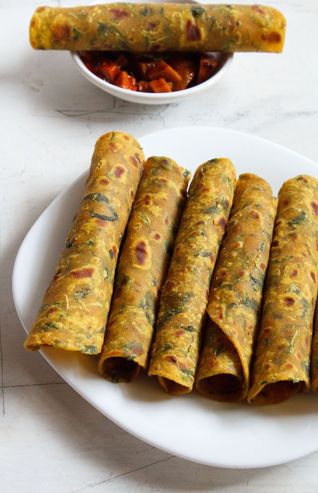 methi thepla, methi thepla recipe
