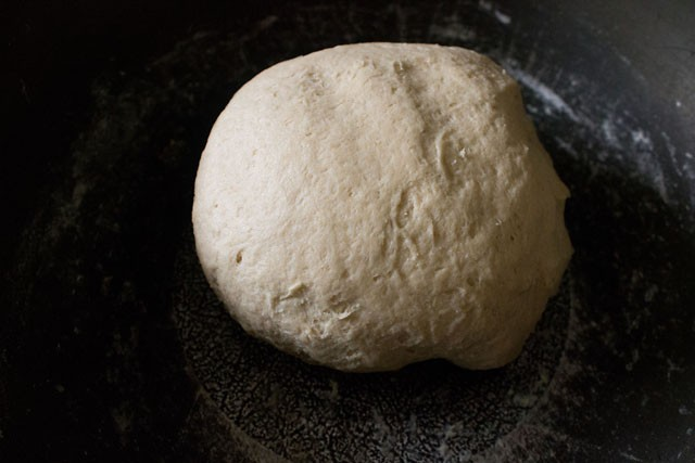 preparing pita bread recipe