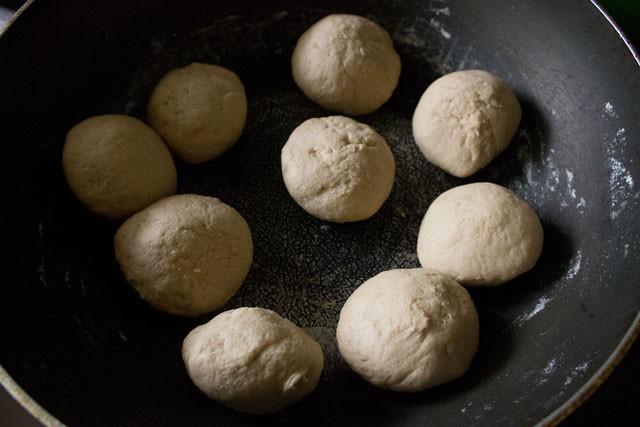pita bread dough balls