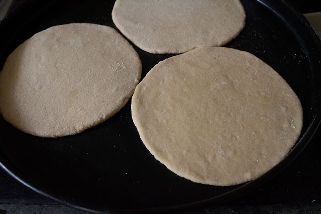 baking pita bread