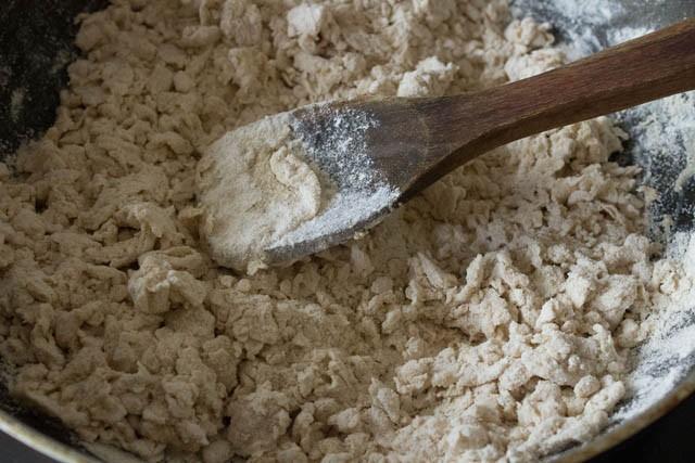 add water to pita bread dough