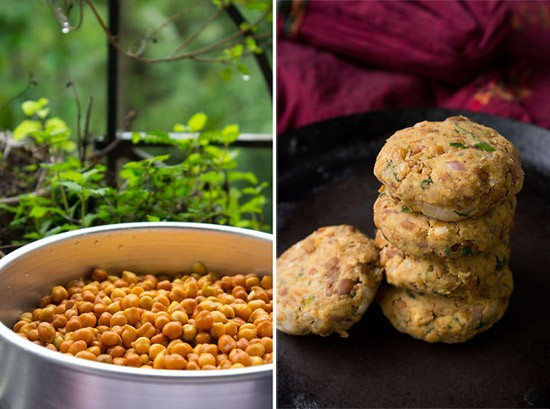 shammi kababs made from black chickpeas