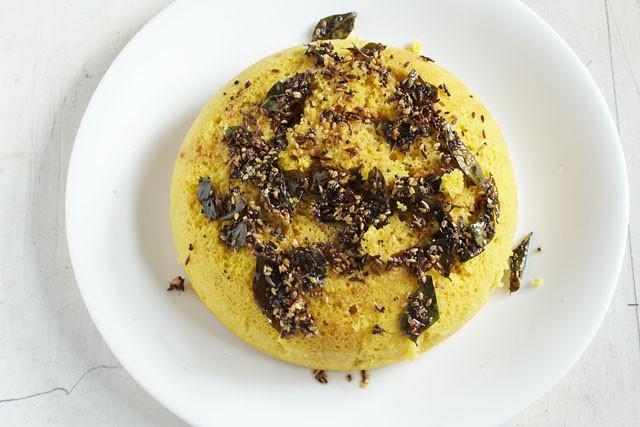 khaman dhokla recipe microwave tempered