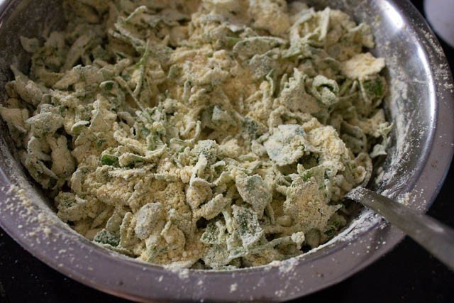 methi muthia dough