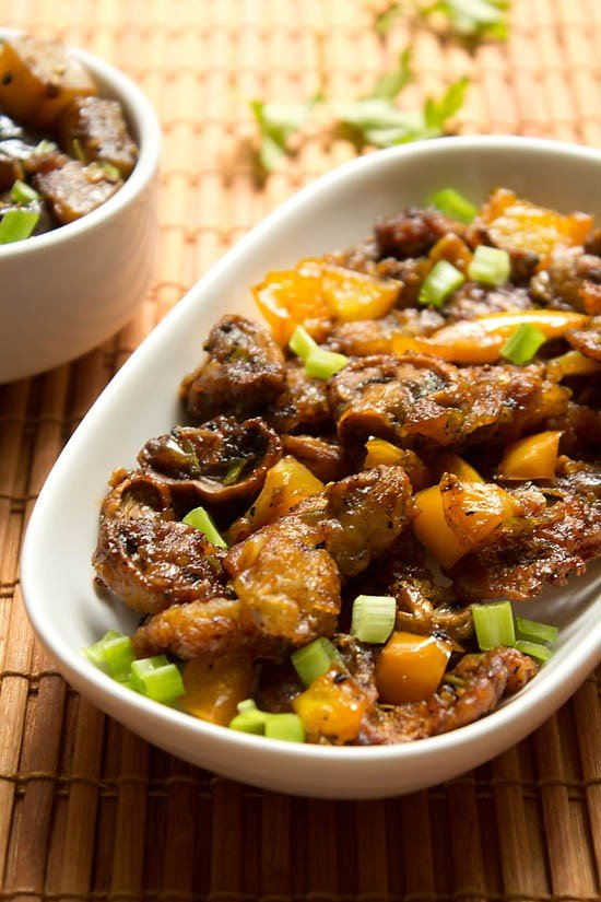 mushroom manchurian recipe, how to make mushroom manchurian recipe