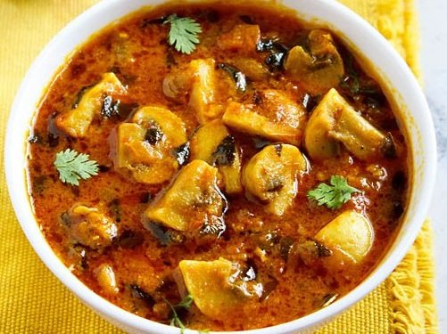 Mushroom recipes 60 tasty mushroom recipes mushroom curry recipes forumfinder Image collections