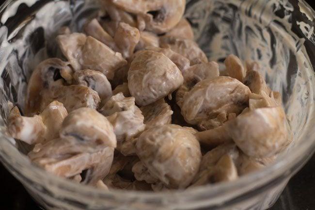 mushroom methi recipe