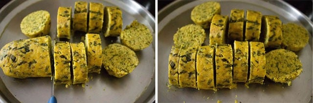 steamed - methi muthia