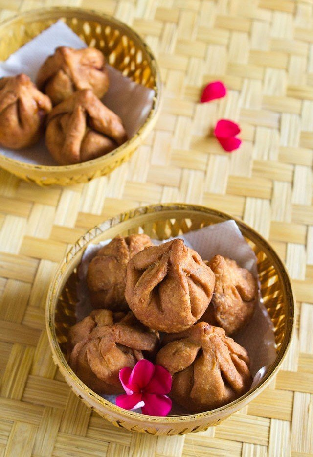 fried modak recipe for ganesh chaturthi festival