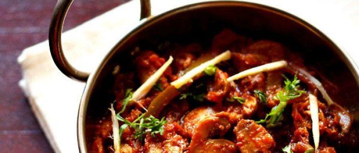kadai mushroom recipe, how to make kadai mushroom | mushroom recipes