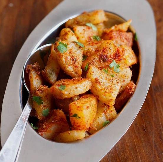aloo chaat recipe, potato chaat recipe