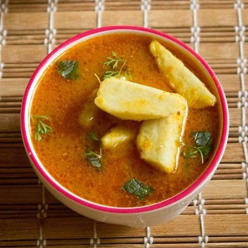 arbi curry recipe, arbi masala recipe