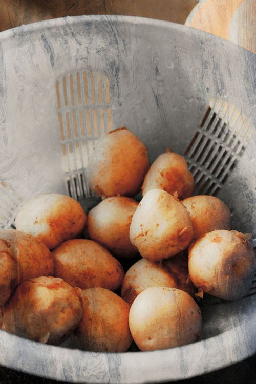 baby potatoes for tandoori aloo recipe