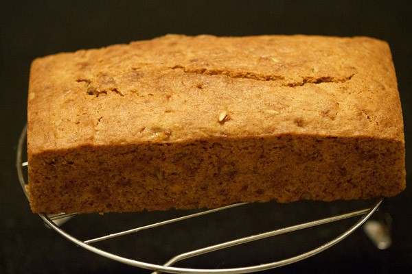 baked eggless banana bread recipe