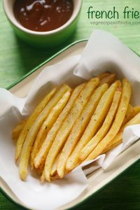 french fries recipe, how to make french fries | easy finger chips recipe