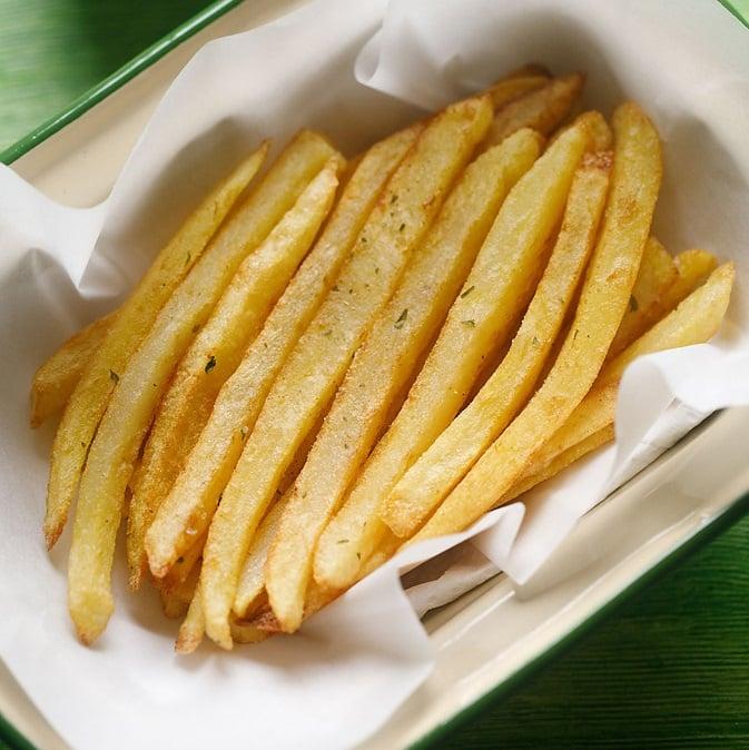 French Fries Crispy Homemade Finger Chips Video