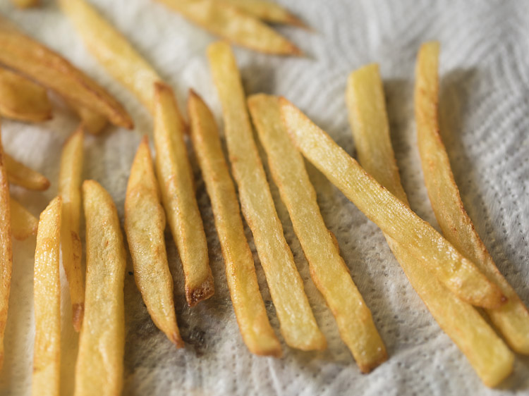 making french fries recipe