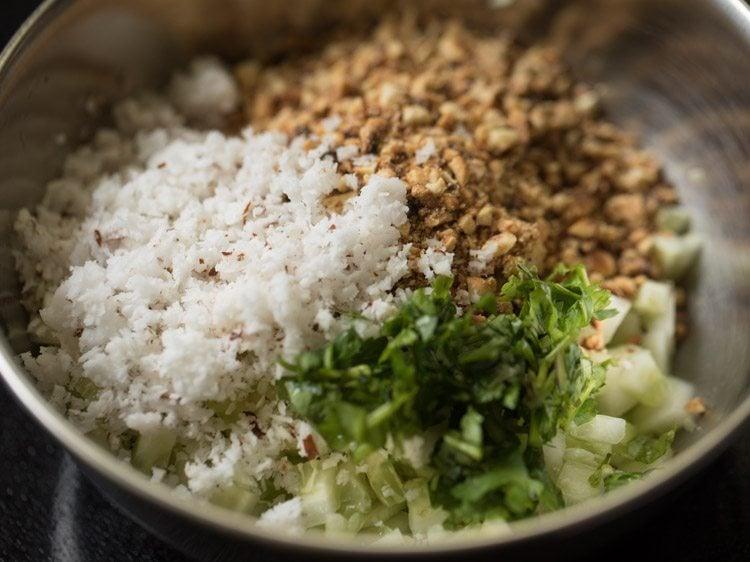 making khamang kakdi recipe