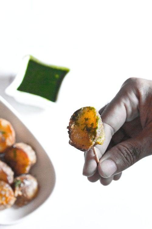tandoori aloo vegan recipe