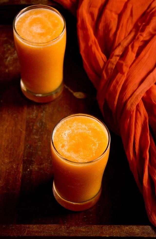 musk melon juice recipe | kharbuja juice  how to make musk melon juice