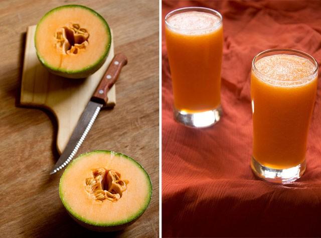 musk melon juice recipe kharbuja juice how to make musk melon juice