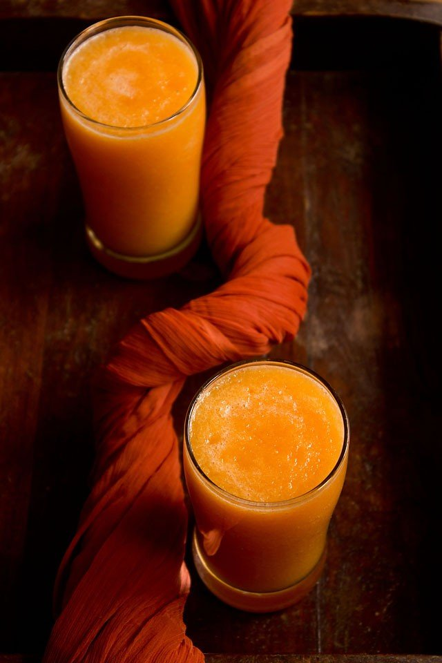 muskmelon juice recipe