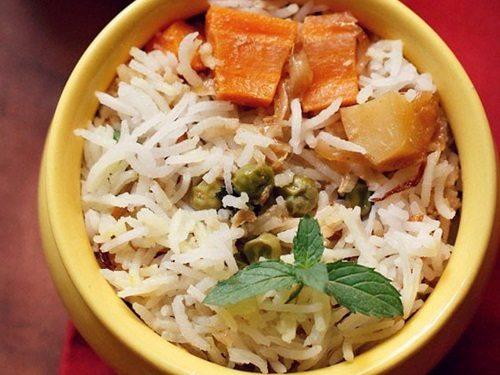 dum veg biryani recipe restaurant style