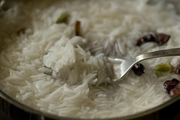 rice for veg biryani restaurant style recipe