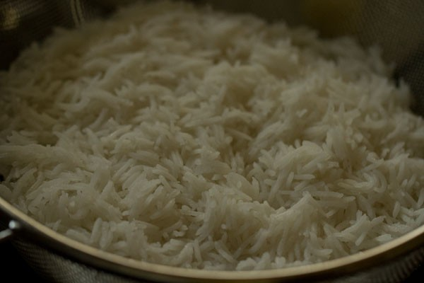 rice for veg biryani restaurant style recipe