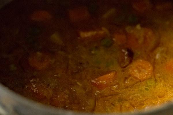 making restaurant style veg dum biryani recipe