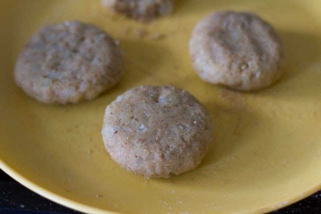 patties made from the mixture