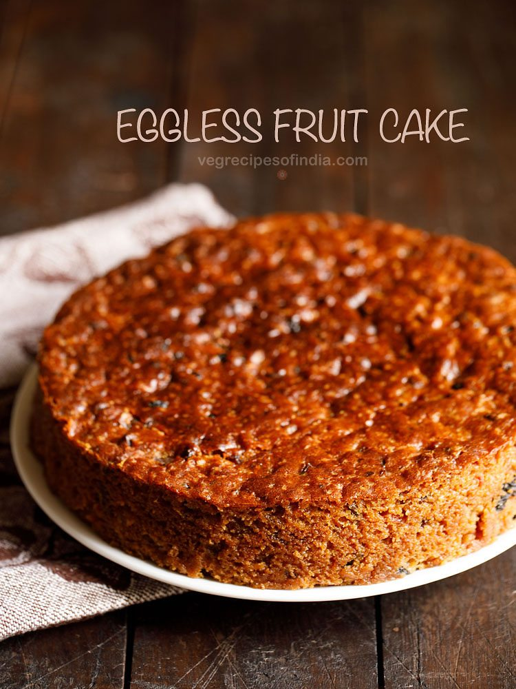 Eggless christmas fruit cake recipe egg free fruit cake recipe christmas fruit cake recipe forumfinder Image collections