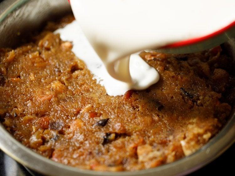 making eggless christmas fruit cake recipe
