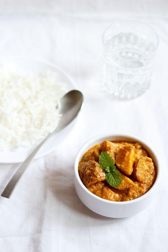 punjabi dum aloo recipe, dum aloo recipe