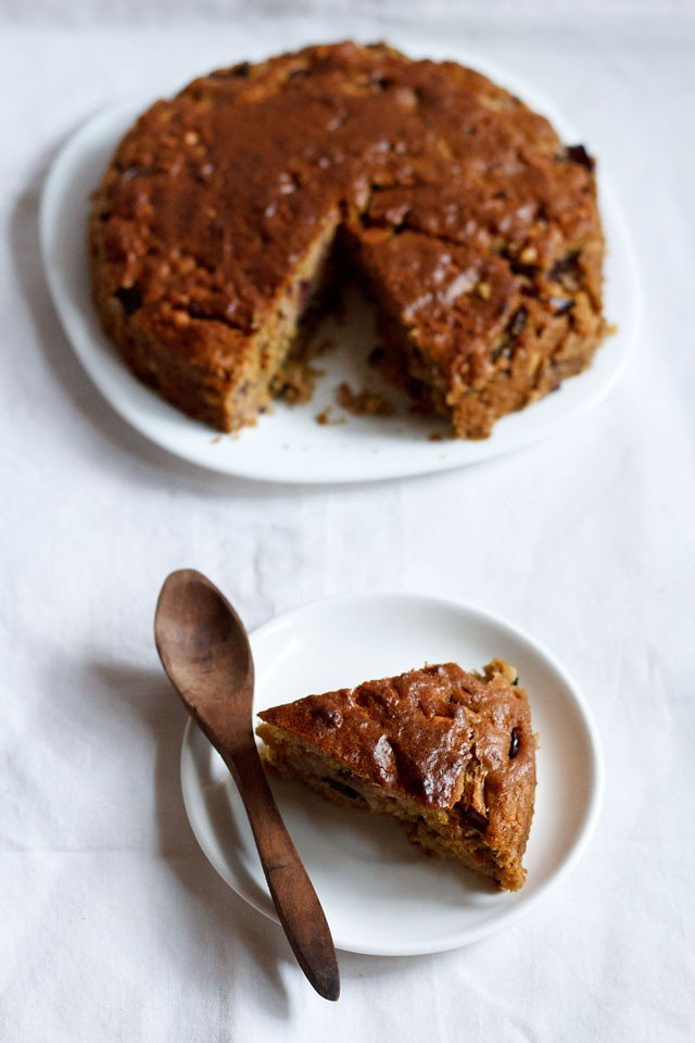Recipe For Eggless Plum Cake