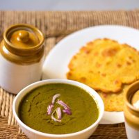 sarson ka saag recipe, how to make punjabi sarson ka saag recipe