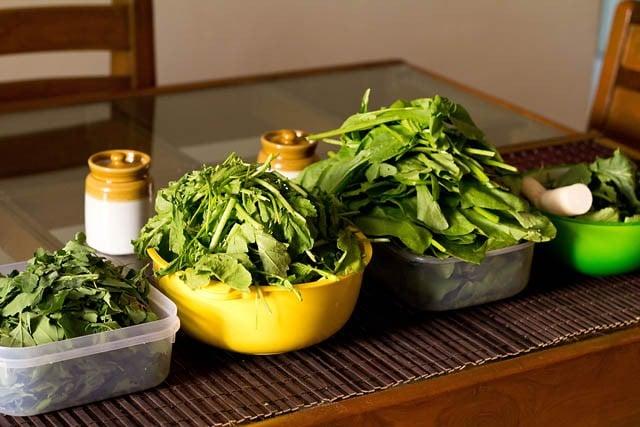 greens for sarson ka saag