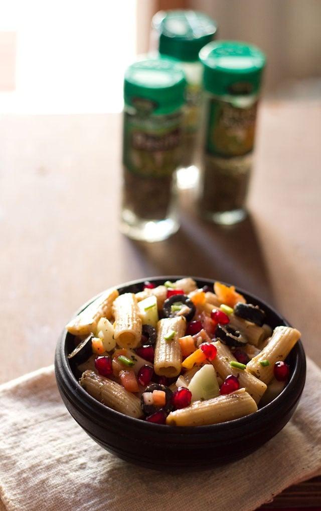 pasta salad recipe, how to make easy pasta salad recipe | salad recipes