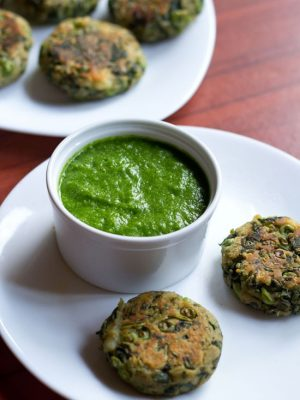 green garlic chutney