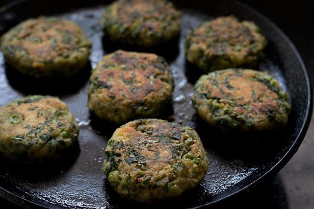 hara bhara kabab recipe, hara bhara kabab