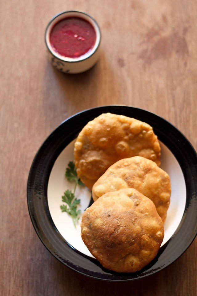 matar kachori recipe or khasta matar kachori recipe | peas kachori